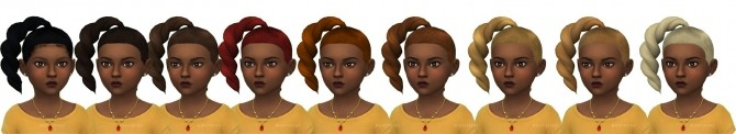 Shays Hair for Toddler Girls at Onyx Sims image 353 670x122 Sims 4 Updates
