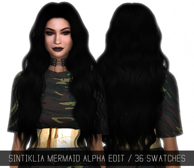 Sims 4 SINTIKLIA MERMAID ALPHA EDIT at Simpliciaty
