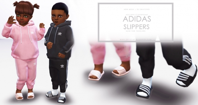 Slippers For Toddlers At Onyx Sims 187 Sims 4 Updates