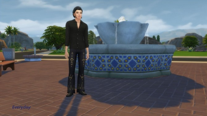 Elvis Presley by Snowhaze at Mod The Sims image 36 670x377 Sims 4 Updates