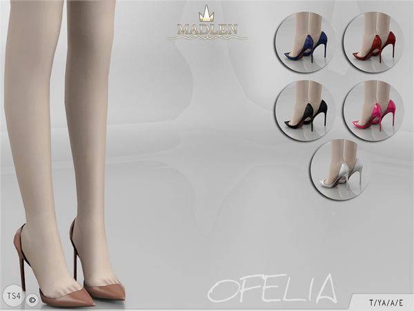 Madlen Ofelia Shoes by MJ95 at TSR image 3612 Sims 4 Updates