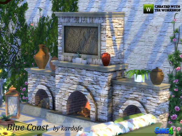 Blue Coast set by kardofe at TSR image 3620 Sims 4 Updates