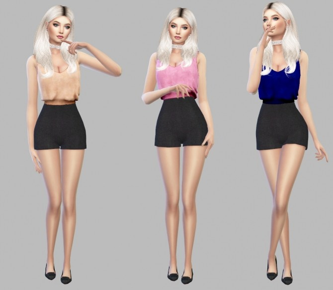 Sims 4 Jestika Top at Simply Simming
