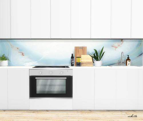 Kitchen Panels at Viikiita Stuff image 3641 Sims 4 Updates