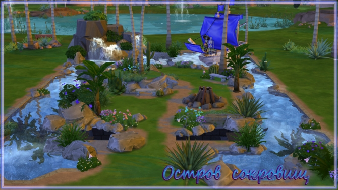 Treasure Island By Fatalist At Ihelensims 187 Sims 4 Updates
