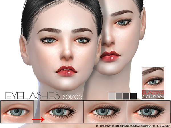 Eyelashes 201705 by S Club WM at TSR image 3723 Sims 4 Updates