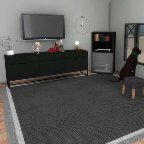 TV Cabinet and Console at Leo Sims image 380 Sims 4 Updates