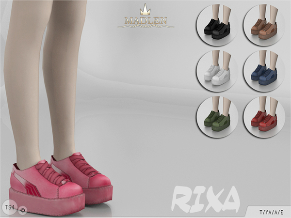 Madlen Rixa Shoes by MJ95 at TSR image 3813 Sims 4 Updates