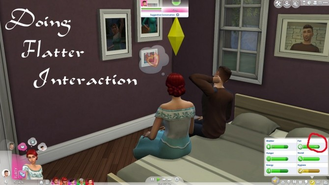 Sims 4 Vampire Tuning & Socializing is Fun by PolarBearSims at Mod The Sims