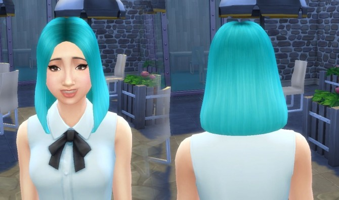 Sims 4 Olivia Hairstyle at My Stuff