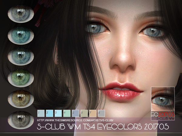 Eyecolors 201705 by S Club WM at TSR image 3911 Sims 4 Updates