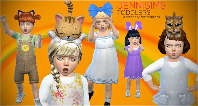Accessories Sets Toddlers (5Acc) Vol2 at Jenni Sims image 40 1 Sims 4 Updates