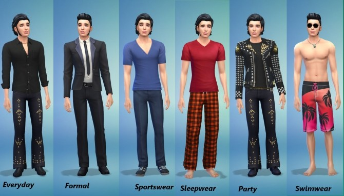 Elvis Presley by Snowhaze at Mod The Sims image 40 670x382 Sims 4 Updates