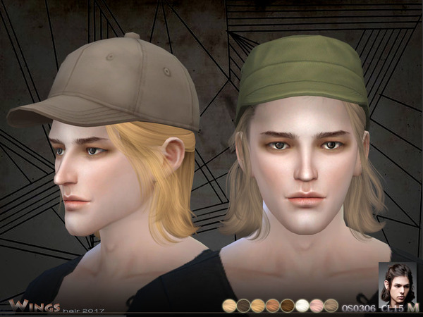 Sims 4 OS0306 MF hair by wingssims at TSR