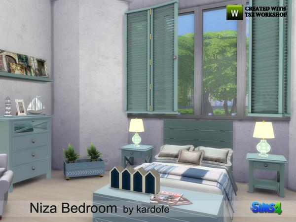 Niza Bedroom by kardofe at TSR image 4112 Sims 4 Updates