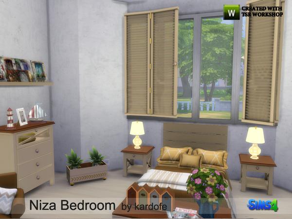 Niza Bedroom by kardofe at TSR image 4212 Sims 4 Updates