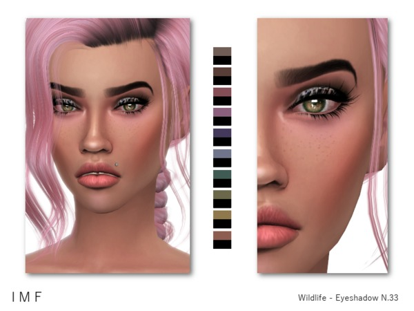 Sims 4 IMF Wildlife Eyeshadow N.33 by IzzieMcFire at TSR