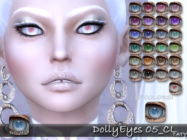 Dolly Eyes 05 CL by tatygagg at TSR image 4321 Sims 4 Updates