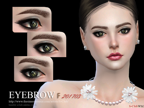 Eyebrows F 201703 by S Club WM at TSR image 44 Sims 4 Updates