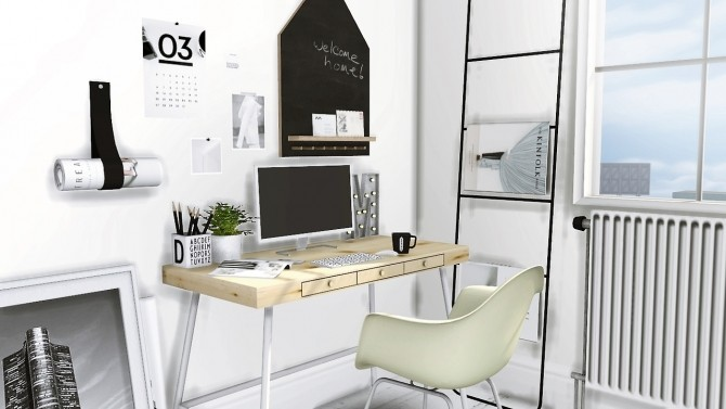 Office set at MXIMS image 442 670x377 Sims 4 Updates