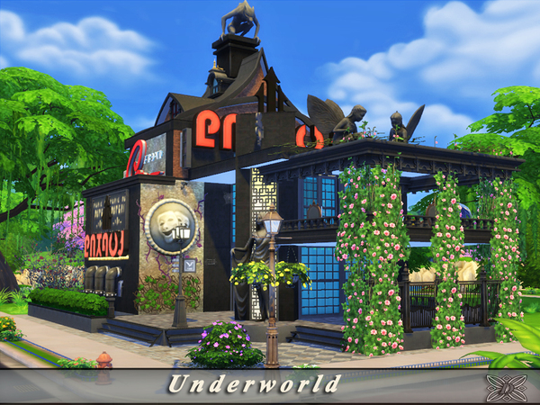 Sims 4 Underworld club by Danuta720 at TSR