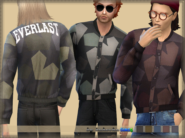 Sims 4 Bomber Jacket Everlast by bukovka at TSR