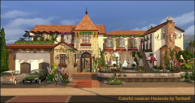 Colorful mexican Hacienda at Tanitas8 Sims image 4518 670x355 Sims 4 Updates