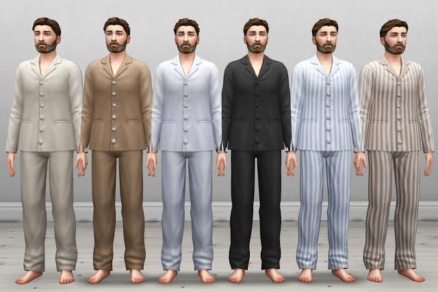Edwardian Mens Nightwear at Historical Sims Life image 457 Sims 4 Updates