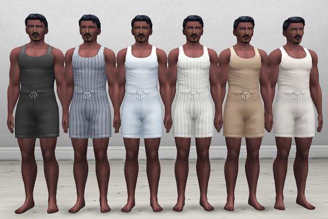 Edwardian Mens Nightwear at Historical Sims Life image 458 Sims 4 Updates
