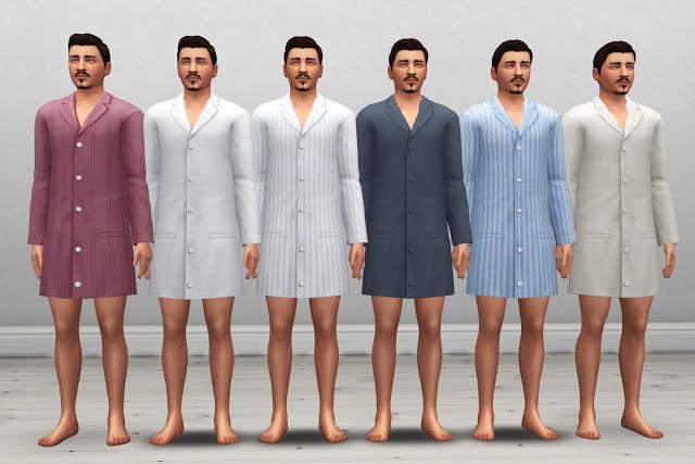 Edwardian Mens Nightwear at Historical Sims Life image 459 Sims 4 Updates