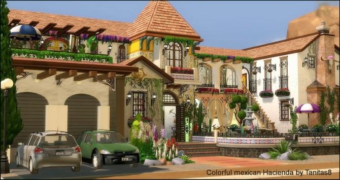 Colorful mexican Hacienda at Tanitas8 Sims image 4617 670x355 Sims 4 Updates