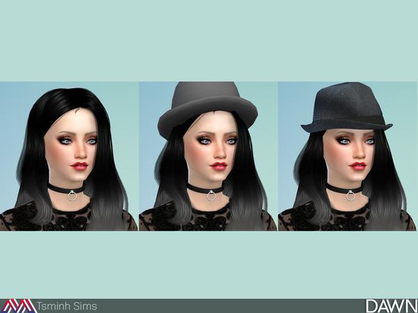 Dawn Hair 29 by TsminhSims at TSR image 4618 Sims 4 Updates