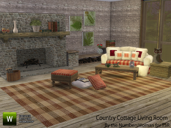 Country Cottage Living by TheNumbersWoman at TSR image 4620 Sims 4 Updates
