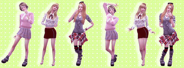 Sims 4 Combination pose 13 at A luckyday