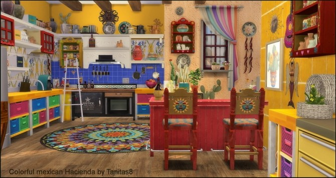 Colorful mexican Hacienda at Tanitas8 Sims image 4817 670x355 Sims 4 Updates