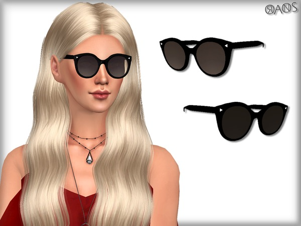 Cat Eye Smoke Lens Sunglasses by OranosTR at TSR image 4818 Sims 4 Updates