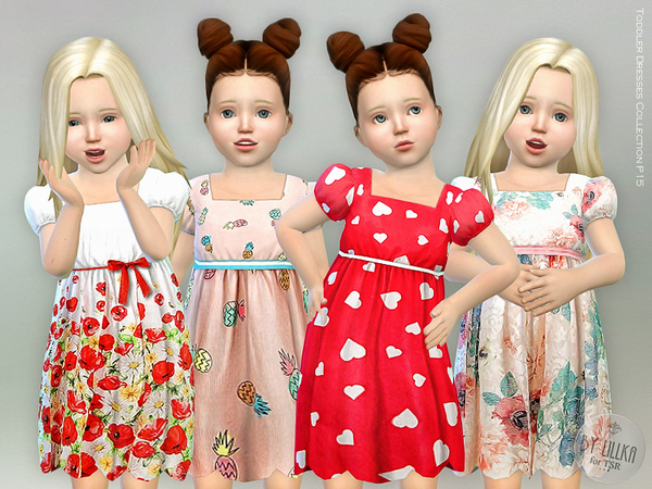 Sims 4 Toddler Dresses Collection P15 by lillka at TSR