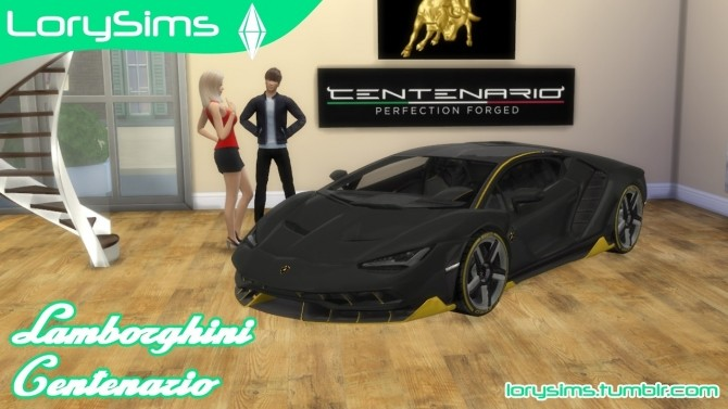 Lamborghini Centenario at LorySims image 483 670x377 Sims 4 Updates