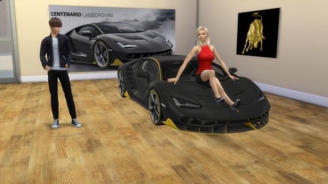 Lamborghini Centenario at LorySims image 485 670x377 Sims 4 Updates