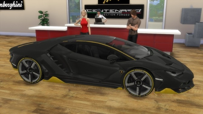 Lamborghini Centenario at LorySims image 488 670x377 Sims 4 Updates