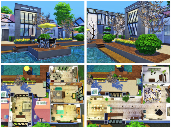 Sims 4 Scandia dress by Danuta720 at TSR