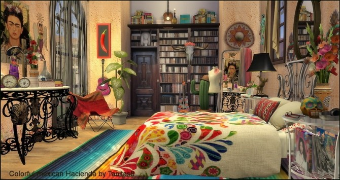 Colorful mexican Hacienda at Tanitas8 Sims image 4917 670x355 Sims 4 Updates