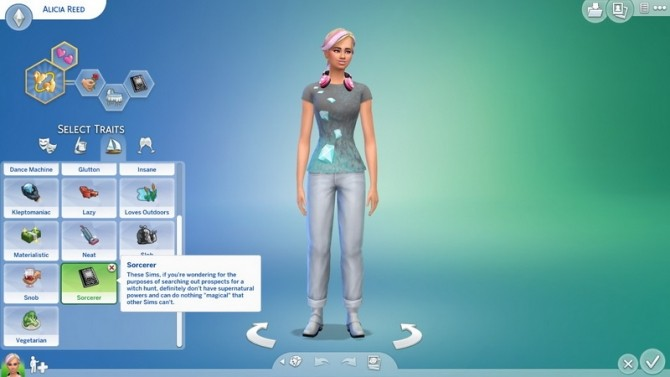 Sims 4 Sorcerer Trait by CardTaken at Mod The Sims