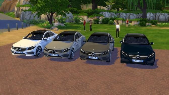 Mercedes Benz C Class At Lorysims 187 Sims 4 Updates
