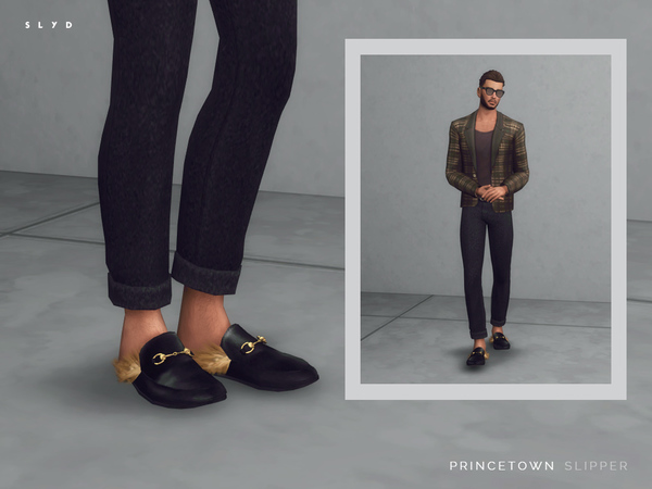 Sims 4 Princetown Slipper Male version by SLYD at TSR