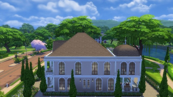 Sims 4 Cypress Garden (no cc) by JessCriss at Mod The Sims