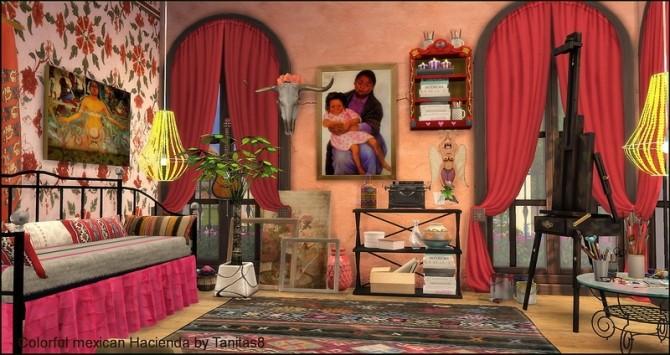 Colorful mexican Hacienda at Tanitas8 Sims image 5015 670x355 Sims 4 Updates