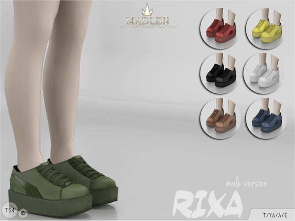 Madlen Rixa Shoes male by MJ95 at TSR image 5101 Sims 4 Updates