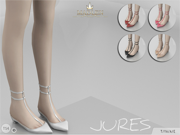 Madlen Jures Shoes by MJ95 at TSR image 5107 Sims 4 Updates