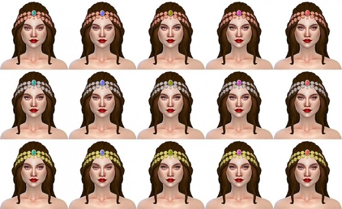 Sims 4 City Life Indian Jewel by Delise at Sims Artists